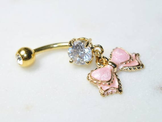 uk seller rose gold Industrialscaffold bar with cubic zirconia in 3 colours surgical steel gold