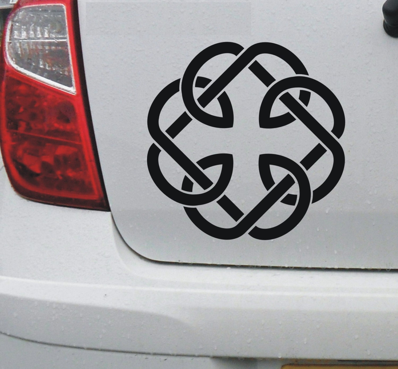 Celtic Fatherhood Knot 1 Vinyl Car Bike Window Etsy