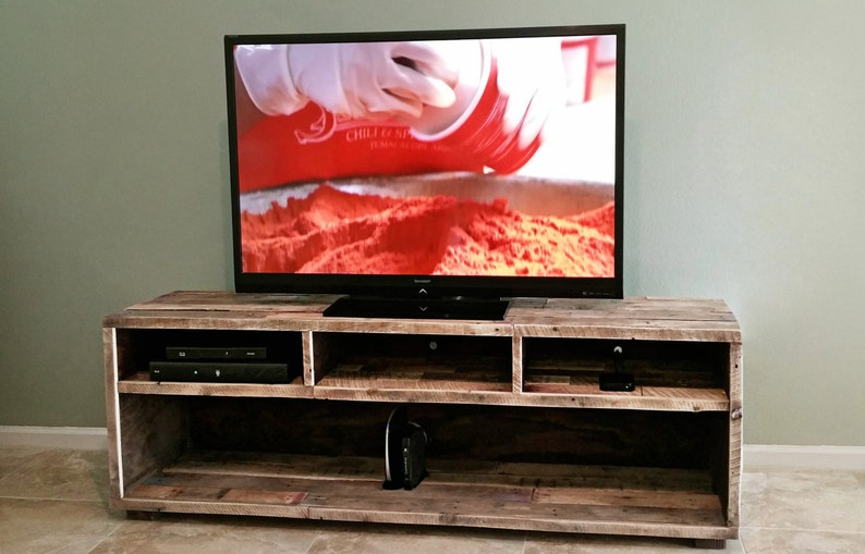 4b36dda98246 Reclaimed Wood Media Unit TV Stand Entertainment Center