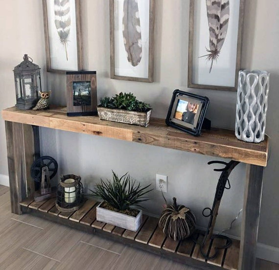Cool Reclaimed Wood Console Table Accent Sofa Entryway Entry Bathroom Vanity Tv Stand Beach House Cabin Recycled Ibusinesslaw Wood Chair Design Ideas Ibusinesslaworg