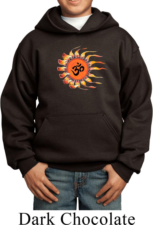 Ohm Sun Kid/'s Yoga Hoodie PC90YH-OMSUN