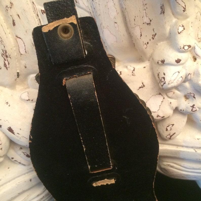 Vintage Horse Brasses on Heavy Leather Strap