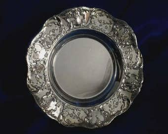 Vintage Lento Silver Plated Plate/Dish