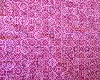 Pink Fabric Fat Quarter