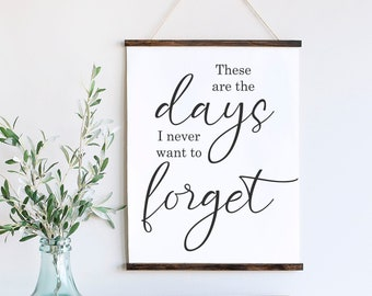 """SVG, & PNG - """"These are the Days I never Want to Forget"""""""