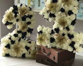 Large 21 floral number for Birthdays !