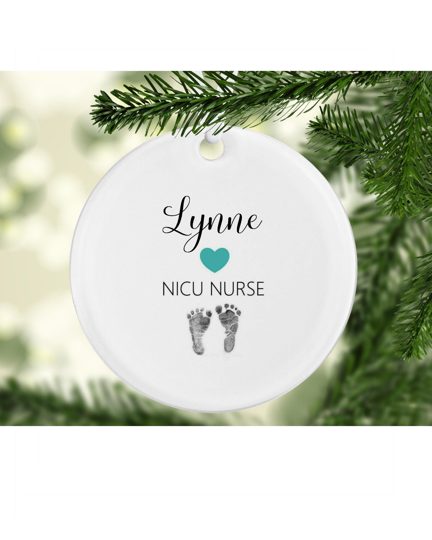 NICU Nurse Ornament NICU Nurse Ornaments Nurse Ornament | Etsy