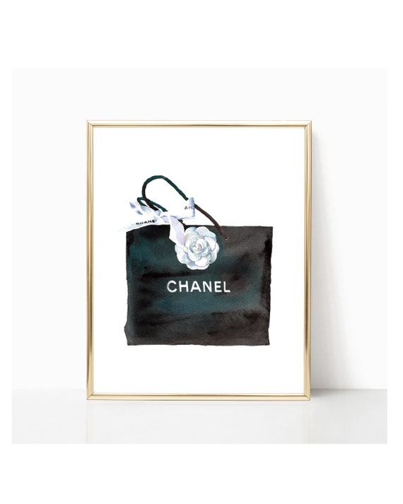 photo about Chanel Printable named Chanel Bag Print, Chanel Wall Artwork, Chanel Printable, Chanel Wall Decor, Chanel Printable Artwork, Design Print, Model Printable, Wall decor