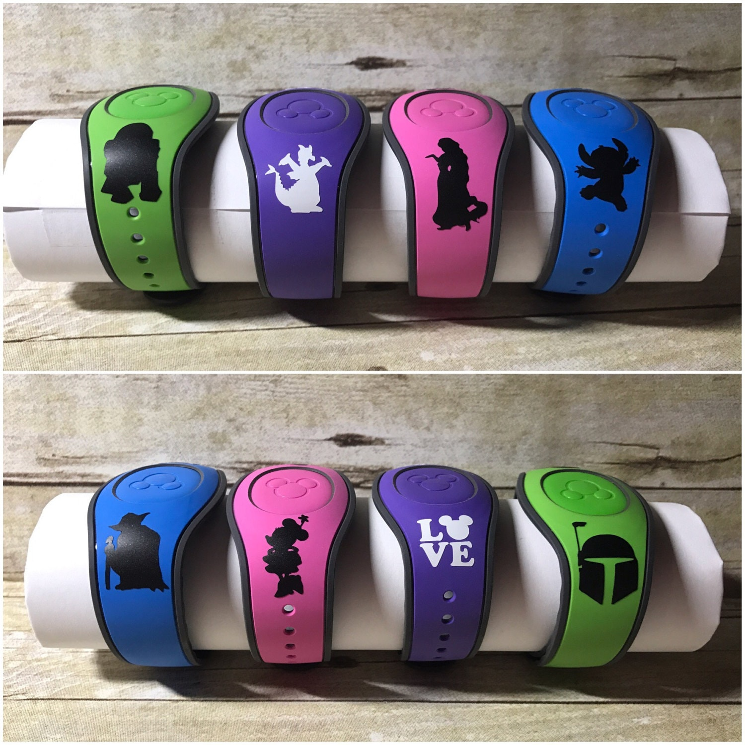 Magic Band Stickers Disney