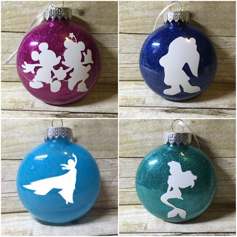 Shoptagr Personalized Disney Acrylic Plastic Christmas Ornament By