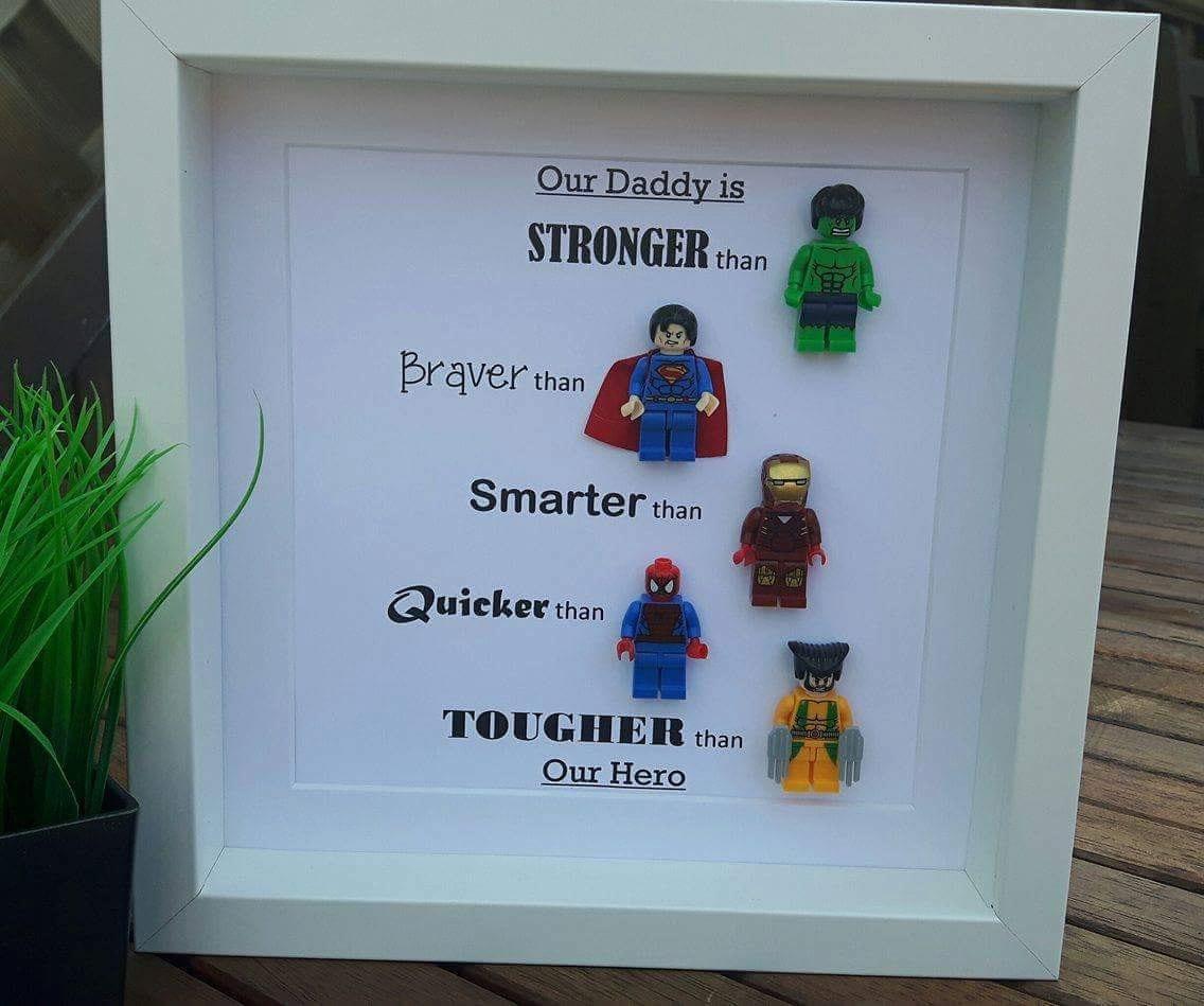 Superhelden-Lego-Rahmen   Etsy
