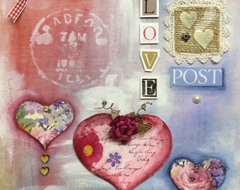 Love Post e-pattern pack