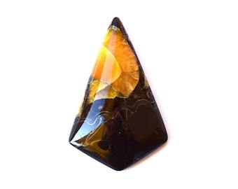 Simbircite  natural stone cabochon  44 x 28 x 7 mm