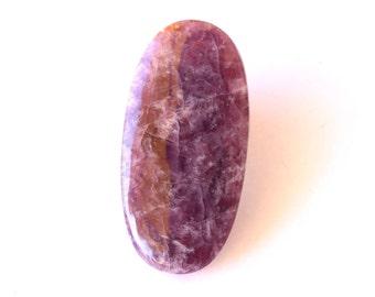 Rare Ussingite natural stone cabochon  61 x 30 x 6 mm