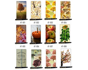 Travelers Notebook Autumn/Fall Covers. Choose this cover then choose from 120 inside print options, 10 Papers, 10 TN Sizes.