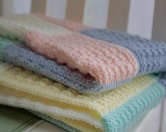 e2b5067e7cbd Heartwood Baby Blanket in DK yarn