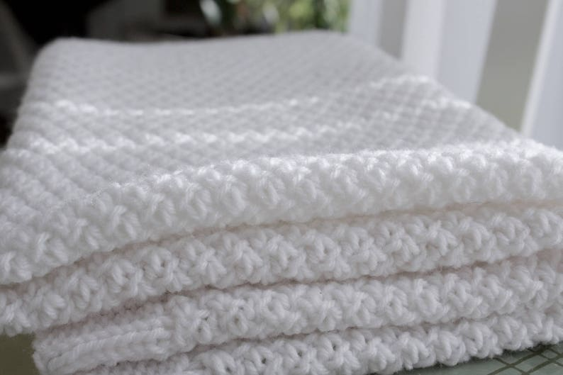 f6a35c9bf771 Robyn Baby Blanket A textured baby blanket