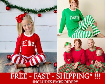 matching christmas pajamas etsy