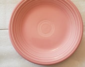 Homer Laughlin Fiestaware Choice of Dinner Plate, salad plate and or bowl in Apricot, Rose (pink), or Green RETIRED