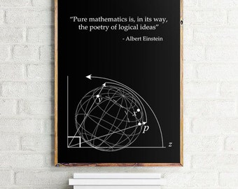 Intermediate Algebra and Mymathlab Pkg Einstein Quote Math Poster, Sc
