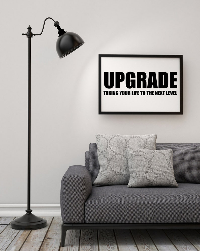 Typographic Art Upgrade Taking You Life To The Next Etsy