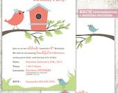 BIRDHOUSE Invitation // B...