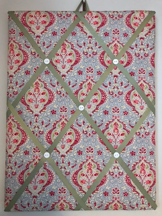 Hand Made Fabric Notice Board