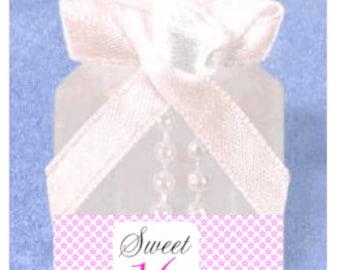 Sweet Sweet 16 12pack Mini Bubble Favors