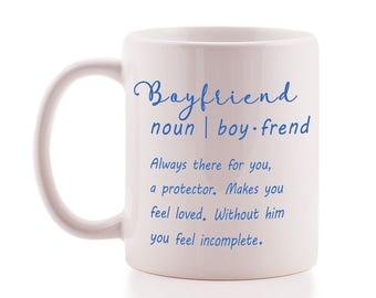Cute 'Boyfriend' Definition Mug