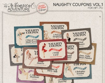 personalized gifts printable coupons coupon paper digital etsy
