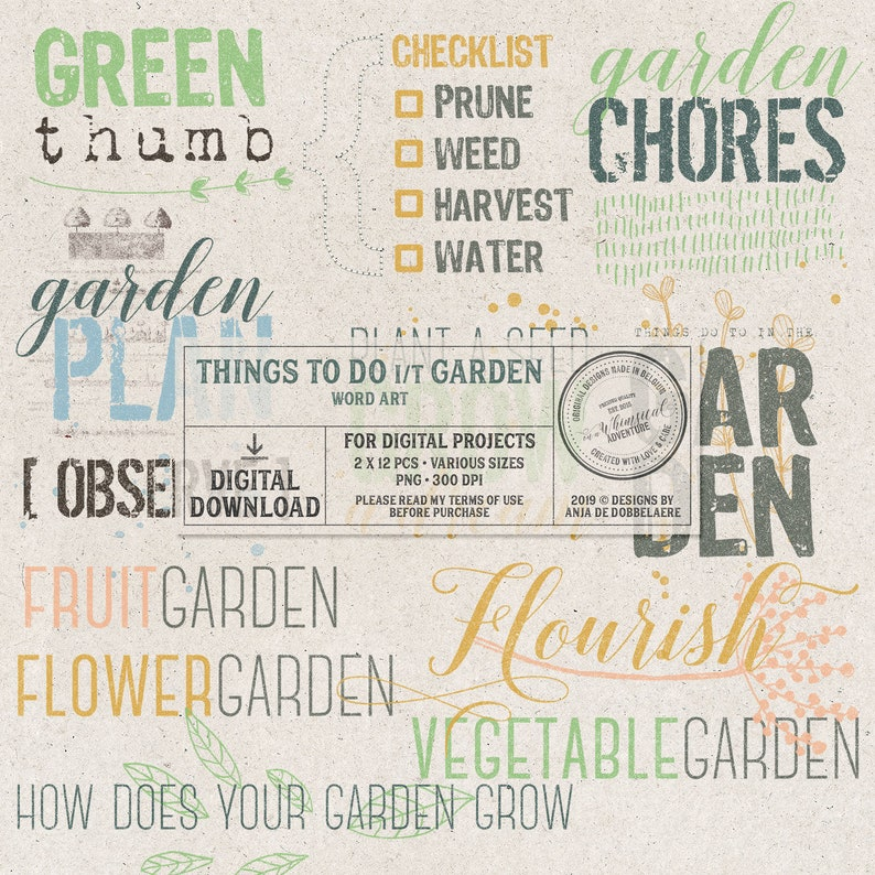 In The Garden For The Gardener Instant Download Grow A image 0