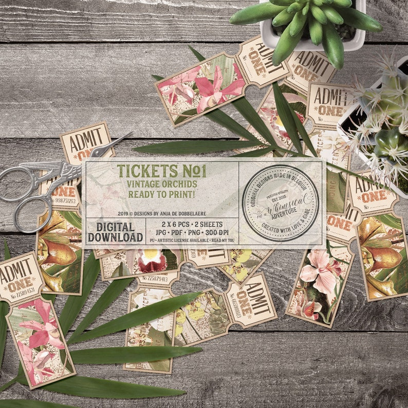 Tropical Party Idea Wedding Invitation Rose Gold and Green image 0