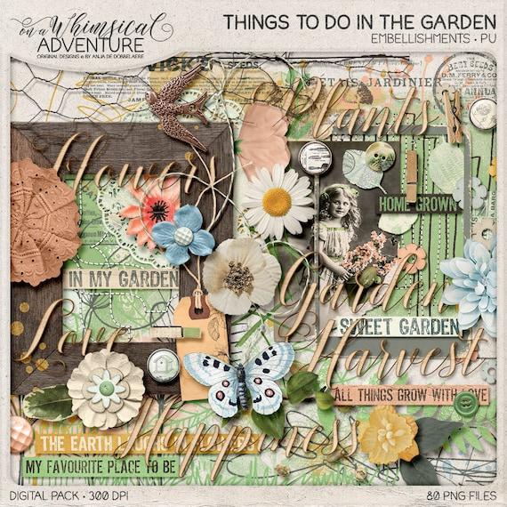 Gardening Journal Nature Inspired In The Garden Spring   Etsy