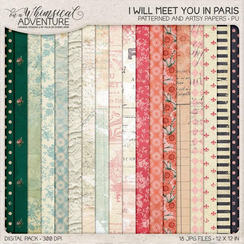French Wedding Themes Travel Wedding Scrapbook Ideas Vintage Style Paris Themed Digital Scrapbook Kit Valentines Shabby Chic Clip Art