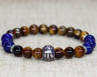 860c7e869edc8 Custom gifts for men Zodiac bracelet Mens jewelry Sagittarius Aries Taurus  Gemini Cancer Leo Virgo Libra Scorpio Capricorn Aquarius Pisces