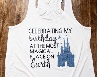 Disney Birthday Shirt Tank Shirts Tanks Castle