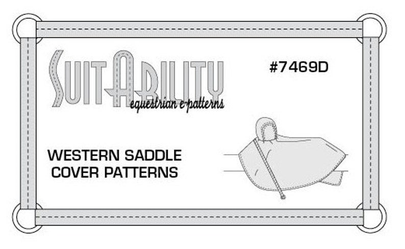 Excellent Pdf Western Saddle Cover Pattern Etsy Wiring Cloud Hisonuggs Outletorg