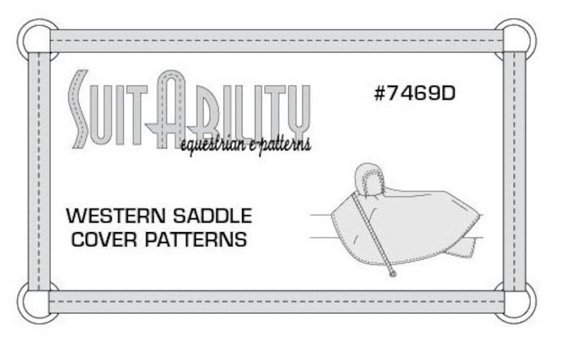 Fabulous Pdf Western Saddle Cover Pattern Etsy Wiring Cloud Xeiraioscosaoduqqnet