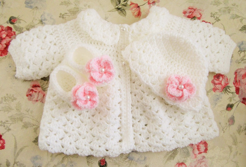 920872dbf Baby Sweater and Hat Baby Sweater Set Infant Gift Set