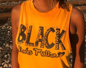 Special Edition 'All BLM' Tank (Gold)