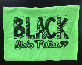 All Black Lives Matter Patch (in Various Colors)