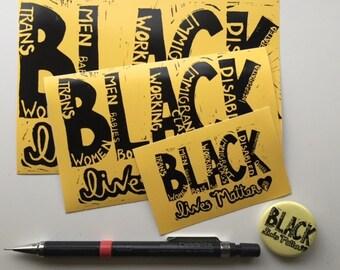 All Black Lives Matter Sticker