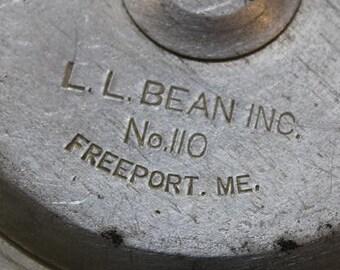 Vintage Classic Rare L.L. Bean No. 110 Fly Fishing Reel