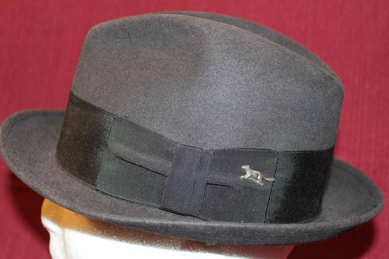 ec6b736070598 Vintage Richcraft Richman Bros. Fur Felt Men s Dress Hat