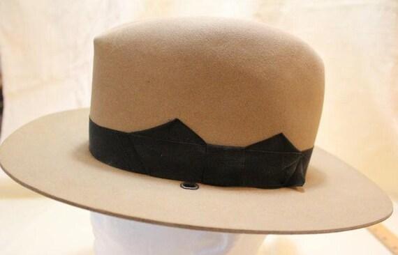 5bb6b33d249 Vintage Shudde Bros. Houston Fur Felt Riding Cowboy Western
