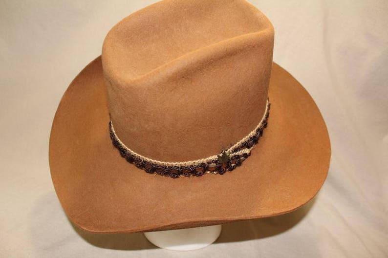 Vintage Brown Biltmore Silver Buckle Fur Felt Western Hat 4X Quality Size 7  56 ... Vintage Brown Biltmore Silver Buckle Fur Felt Western Hat 4X Quality  Size ... 3363dabcec55