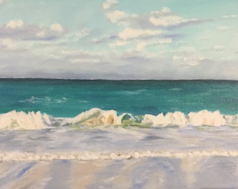 """Bliss is a 12""""x24"""" original oil on canvas. Unframed."""