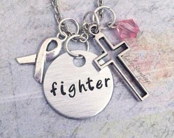 Breast Cancer Survivor Inspired Necklace