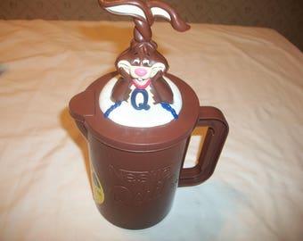 Vintage Nestle Quick Bunny Mixer Cup Mug