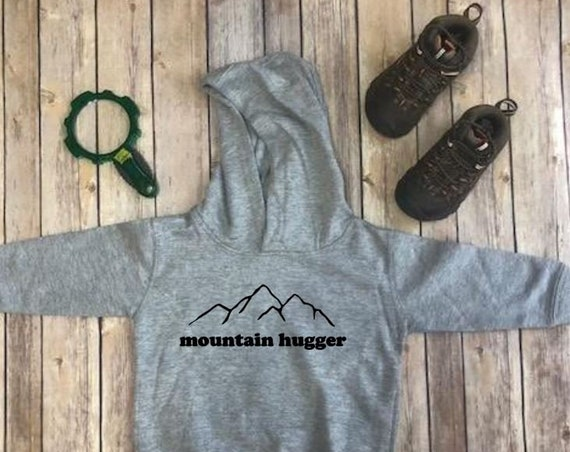 Mountain Sweatshirt|Mountain Hoodie|Mountain Hugger|Kids Hoodie|Kid Sweatshirt|Kid Clothing|Kids Hiking Shirt|Hike|Camping|Kid Boho